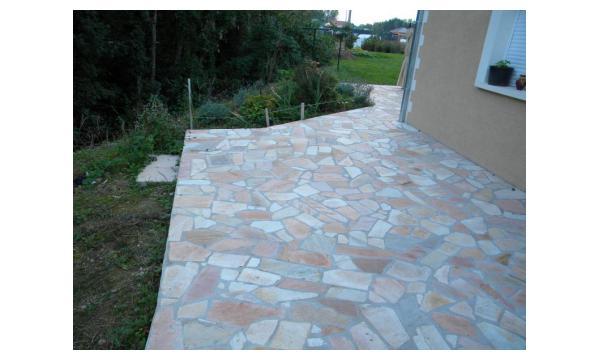 création de terrasse Crozet