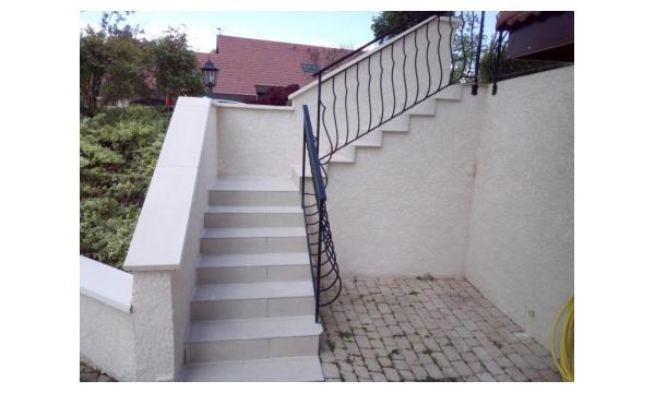 rénovation d'escalier en grés ceram